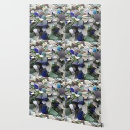 Sea Glass Assortment 5 Wallpaper