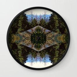 quatriflora Wall Clock