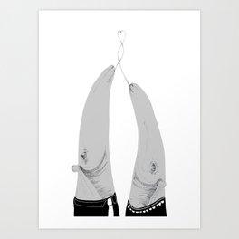 Duet Art Print