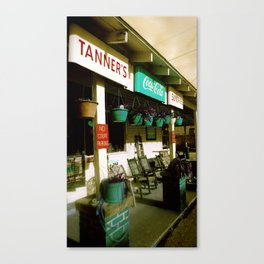 Tanner Sundries Canvas Print