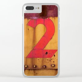 Red and Yellow 250 Clear iPhone Case