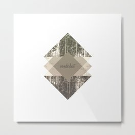 Wonderlust Metal Print