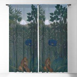 Henri Rousseau - The Repast of the Lion Blackout Curtain