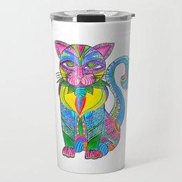 Cat Alebrije Travel Mug