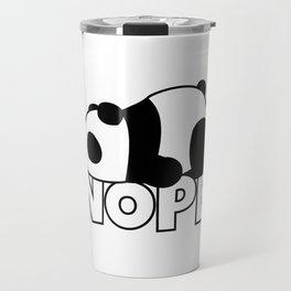 Nope Panda Bear Travel Mug