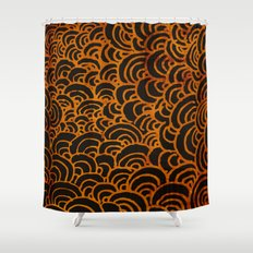 Swirls Shower Curtain