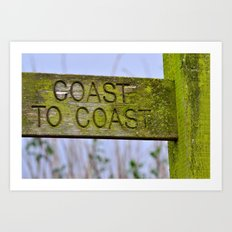 The Coast to Coast Art Print