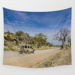 Leopold Downs Road Wall Tapestry