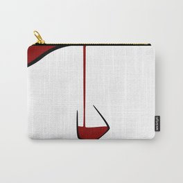 Pouring A Glass Of Wine Carry-All Pouch