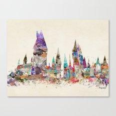 hogwarts school of magic Canvas Print