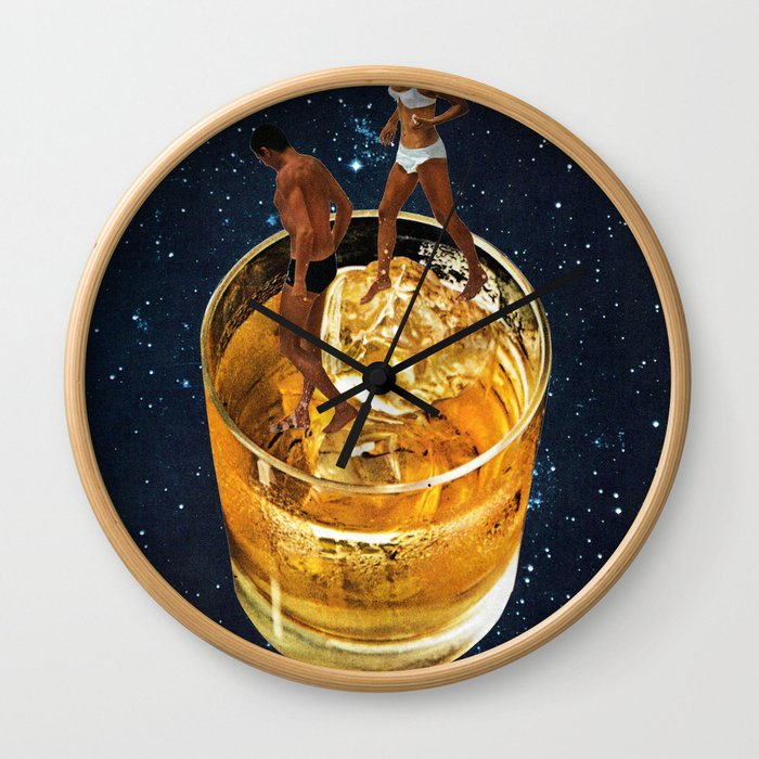 Space Date Wall Clock