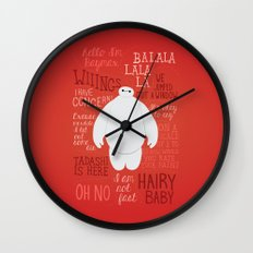 Hello, I'm Baymax Wall Clock