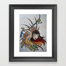 Lamia Framed Art Print