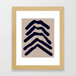 A Collection of Waves 2 Framed Art Print
