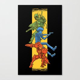 Universe Mighties Bounty Hunters Canvas Print