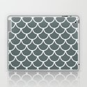 Steel Grey Fish Scales Pattern by jsdavies