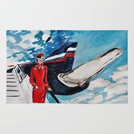 Flight Attendant Rug