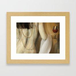 The Wine Goddess Framed Art Print