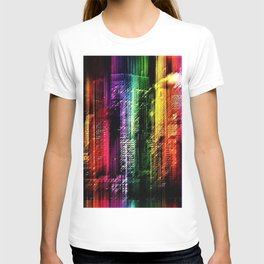 New York City in Living Color Landscape by Jeanpaul Ferro T-shirt