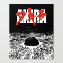 AKIRA - Neo Tokyo Is About To Explode Canvas Print