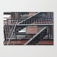 Up the Escape Canvas Print