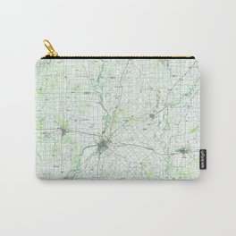 IN Vincennes 156180 1986 topographic map Carry-All Pouch