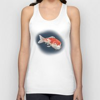 koi Tank Tops featuring Koi by Ken Coleman