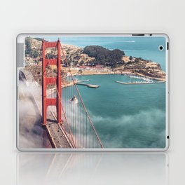 golden gate bridge in san francisco Laptop & iPad Skin