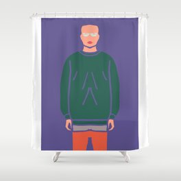 OOTD#2 : Outfit Of The Day Shower Curtain
