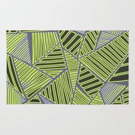 Florida Leaves Pattern Rug