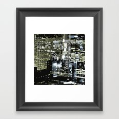 Night City 1 Framed Art Print