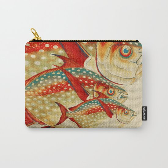 Fish Classic Designs 1 Carry-All Pouch