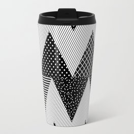Neo Memphis Background 1 Travel Mug