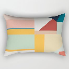 modern abstract II Rectangular Pillow