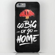 Go Big or Go Home Mario Inspired Smash Art Slim Case iPhone 6s Plus