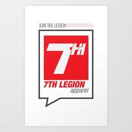 7the Legion Art Print