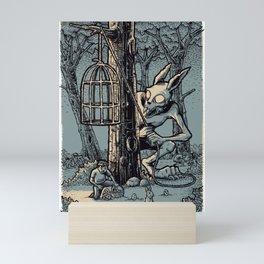 Easter Bunny Mini Art Print