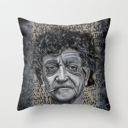 Man Without a Country Throw Pillow