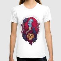 raven T-shirts featuring Raven by Megan Lara