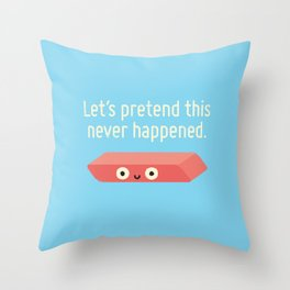 Missing the Mark Throw Pillow