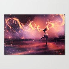 Fall Get up and Move Canvas Print