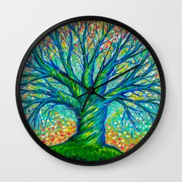 The Faerie Tree Wall Clock