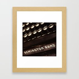 Remington Rand Framed Art Print