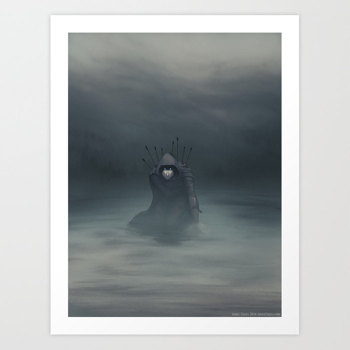 Hunted Art Print
