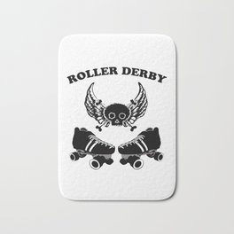 Roller Derby Wings Bath Mat
