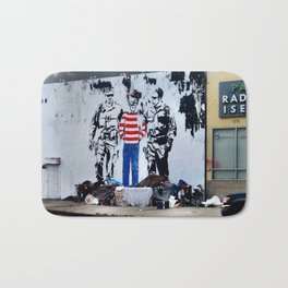 Oh Crap, There's Waldo Bath Mat