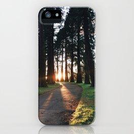 Autumn vibes iPhone Case