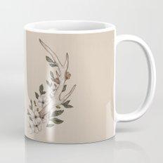 Floral Antler Mug