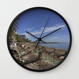Marbella Beach  Wall Clock