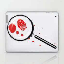 Detectives Magnifying Glass Laptop & iPad Skin